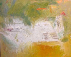 In The White Giants Thigh: Mixed Media Contemporary Painting by Peter Rossiter