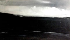 Sliver of Light. Contemporary Abstract Expressionist Painting