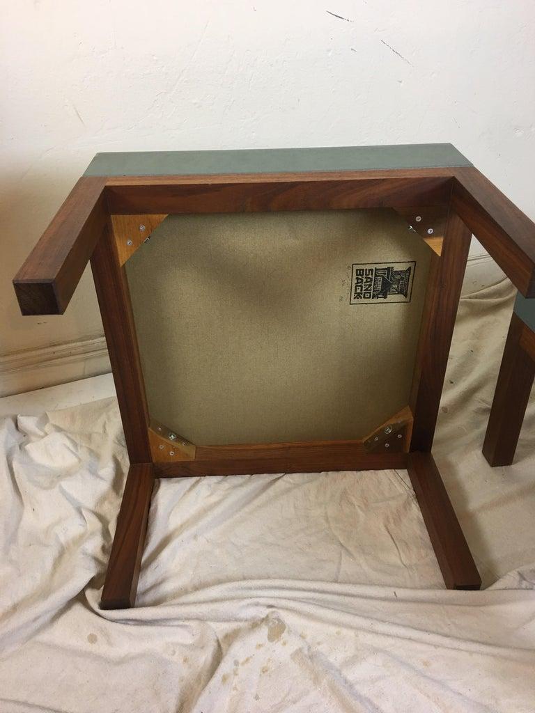 Peter Sandback Cement Composite Tables, 2002 For Sale 1