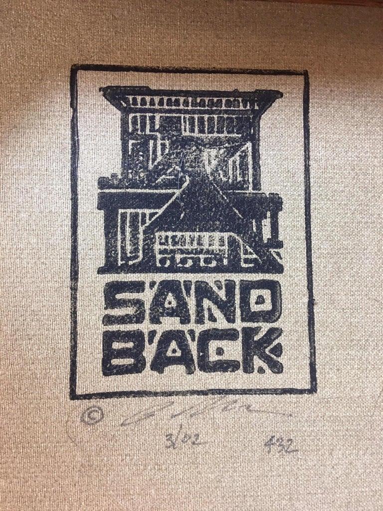 Peter Sandback Cement Composite Tables, 2002 For Sale 2