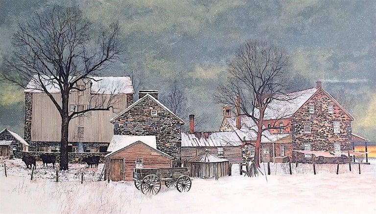 Peter Sculthorpe Heartland Historic Stone Farmhouse