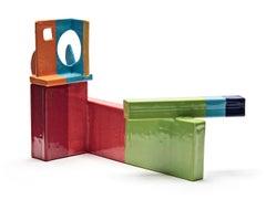 Saki Teapot (Color Block)