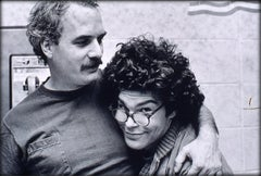 Bill Kreutzmann and Al Franken, NY, 1982