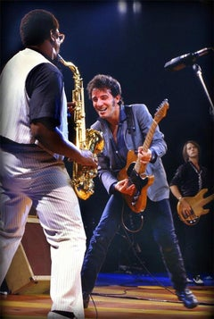 Clarence Clemons and Bruce Springsteen, E Street Band, NY, 1979