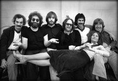 Jerry Garcia and Bob Weir, Grateful Dead, NY, 1972