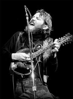 Levon Helm, The Band, MA, 1984