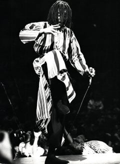 Peter Tosh Performing on Stage Vintage Original Photograph