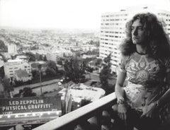 Robert Plant on Balcony Vintage Original Photograph
