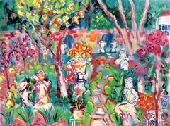 Matisse, Van Gogh and Duffy Visit the Studio Garden