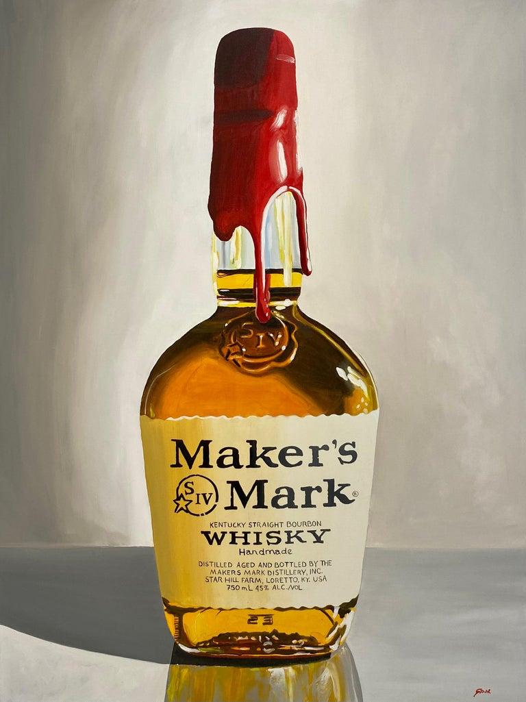 Peter Strid Still-Life Painting - Maker's Mark