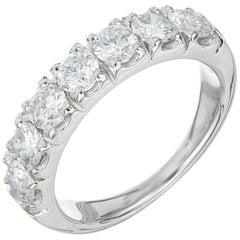 Peter Suchy 1.40 Carat Diamond Platinum Wedding Band