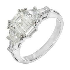 Peter Suchy 1.70 Carat GIA Cert Diamond Platinum Engagement Ring