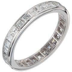 Peter Suchy 2.00 Carat Diamond Platinum Eternity Band Ring