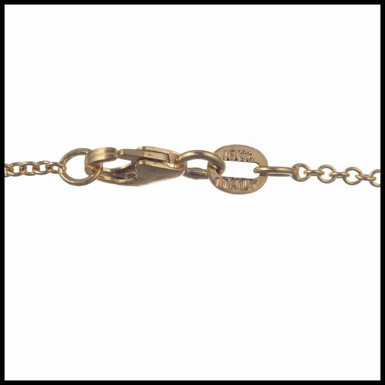 Oval Cut Peter Suchy 9.94 Carat Black Opal Sapphire Diamond Gold Pendant Necklace For Sale