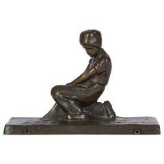 Peter Tereszczuk Viennese Figural Bronze Sculpture, circa 1910