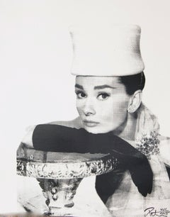 Audrey Hepburn, in Black and White, an Original by Peter Tunney