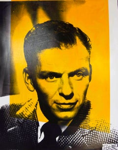 Frank Sinatra Color Headshot, an Original by Peter Tunney