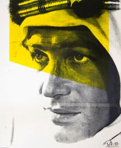 Lawrence of Arabia Color Headshot, an Original by Peter Tunney