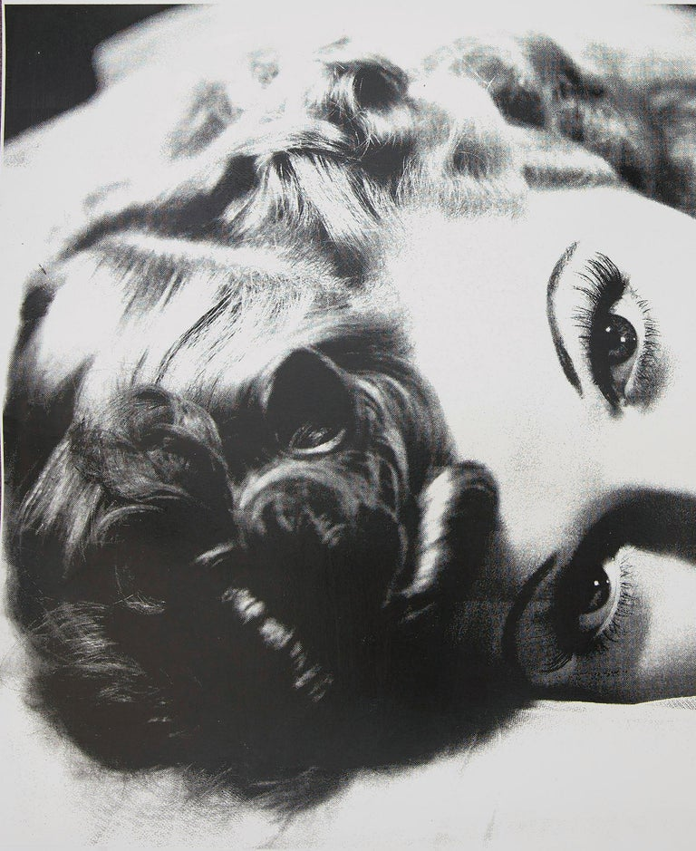 Lucille Ball in Black and White, an Original by Peter Tunney For Sale 1
