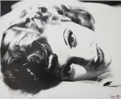 Lucille Ball in Black and White, an Original by Peter Tunney