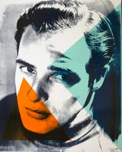 Marlin Brando Color Headshot, an Original by Peter Tunney