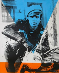 Marlon Brando The Wild One, an Original by Peter Tunney