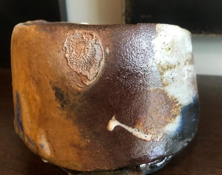 American Peter Voulkos Large Heavy Chawan Teabowl  For Sale