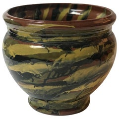 Peters and Reed Glazed Pottery Vase