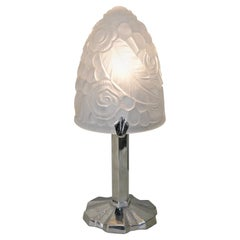 Petit 1920s French Art Deco Table Lamp