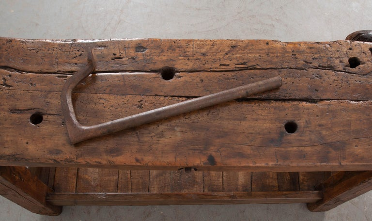 Petite 19th Century French Workbench  For Sale 1