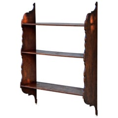 Petite 19th Century Hanging English Plate Rack