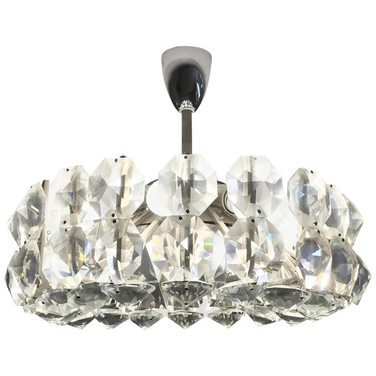 Petite Bakalowits Crystal Chandelier For Sale