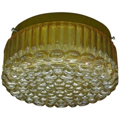 Petite Bubble Pattern Limburg Flush Mount Ceiling Light, 1960s