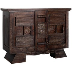 Petite Charles Dudouyt Attributed Cabinet