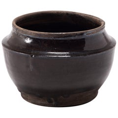 Petite Chinese Glazed Pantry Jar, circa 1900