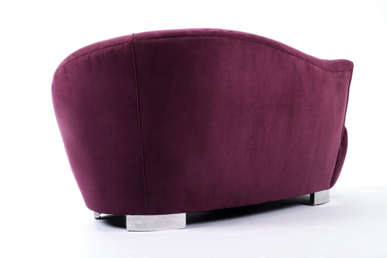 Late 20th Century Petite Cloud Sofa or Chaise Lounge by Vladimir Kagan for Weiman For Sale