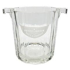 Petite Glass Moët & Chandon Petite Liqueur Ice Bucket with Handles, France