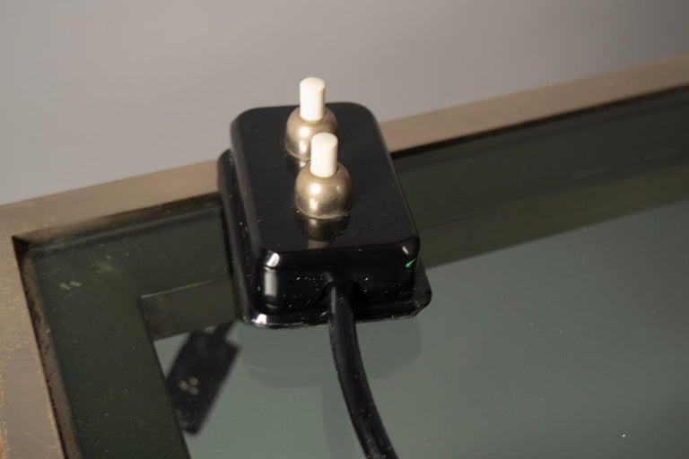 The smallest version of the iconic design by Max Ingrand, original hand switch, electrified for the US.