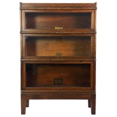 Petite Globe & Wernicke Bookcase in Fantastic Tiger Oak