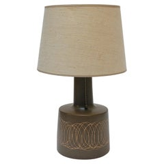 Petite Gordon and Jane Martz Ceramic Table Lamp with Shade
