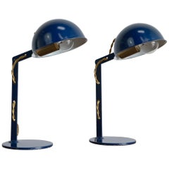 Petite Industrial Table Lamps