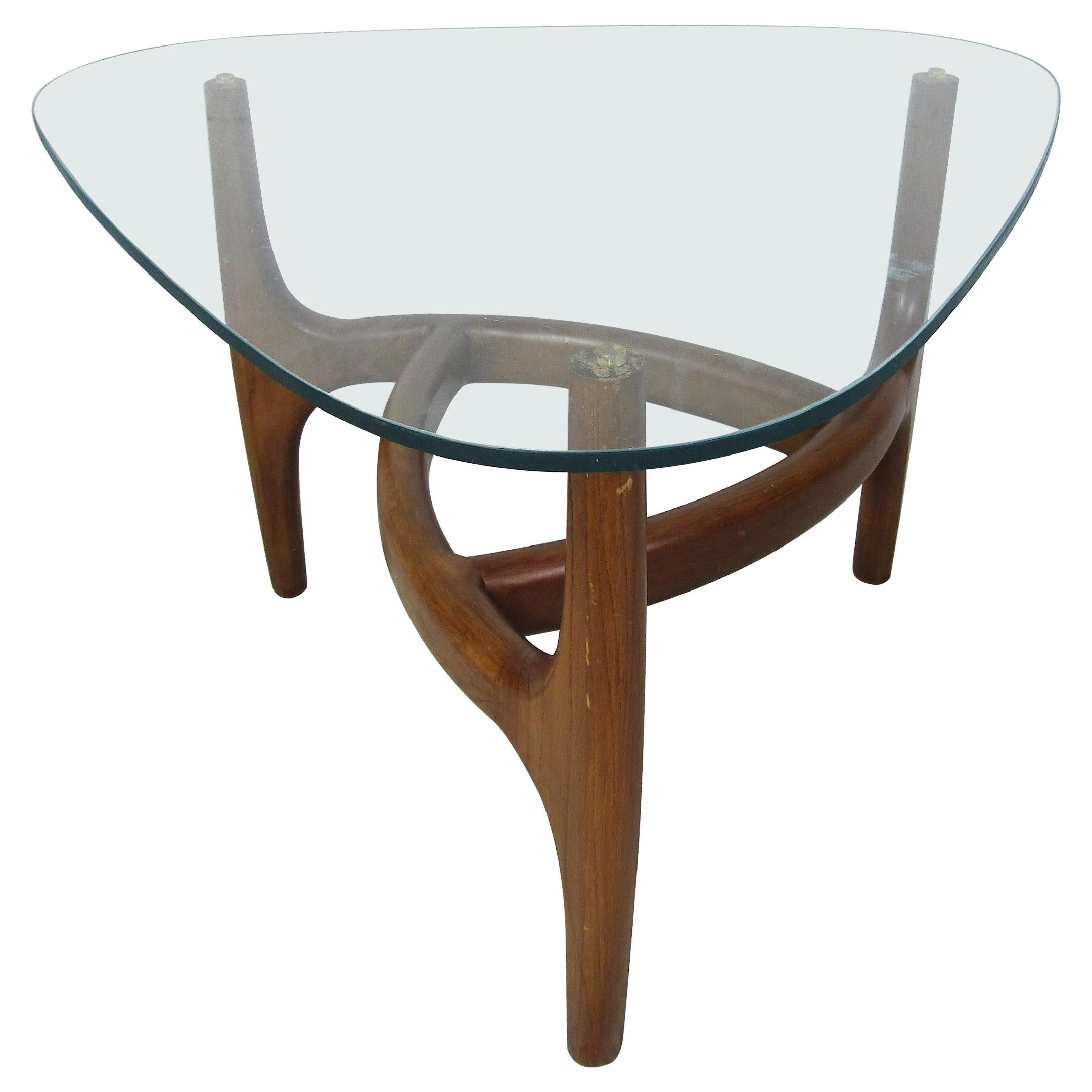 Petite Midcentury Coffee Table by Adrian Pearsall for Craft Associates