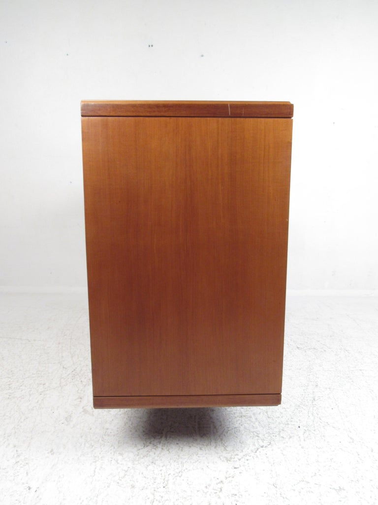 Late 20th Century Petite Mid-Century Modern Credenza For Sale