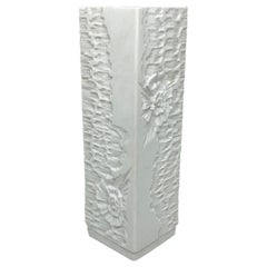 Petite Midcentury Bisque Fossil Vase by Kaiser Porcelain, Germany, 1970s