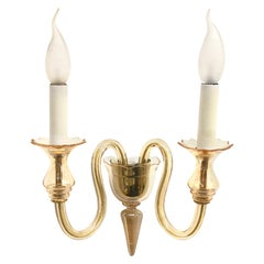 Petite Murano Glass Sconce Wall Lamp Vintage, Italy, 1960s