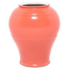 Petite Persimmon Onion Jar