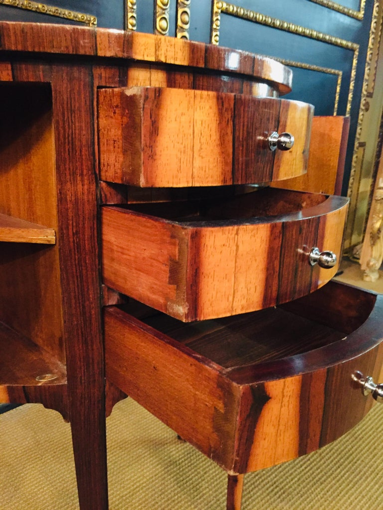 Petite Semicircular Commoder in Louis Seize Style For Sale 2