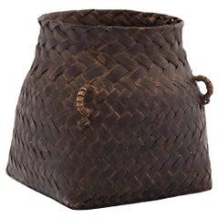 Petite Square Woven Basket
