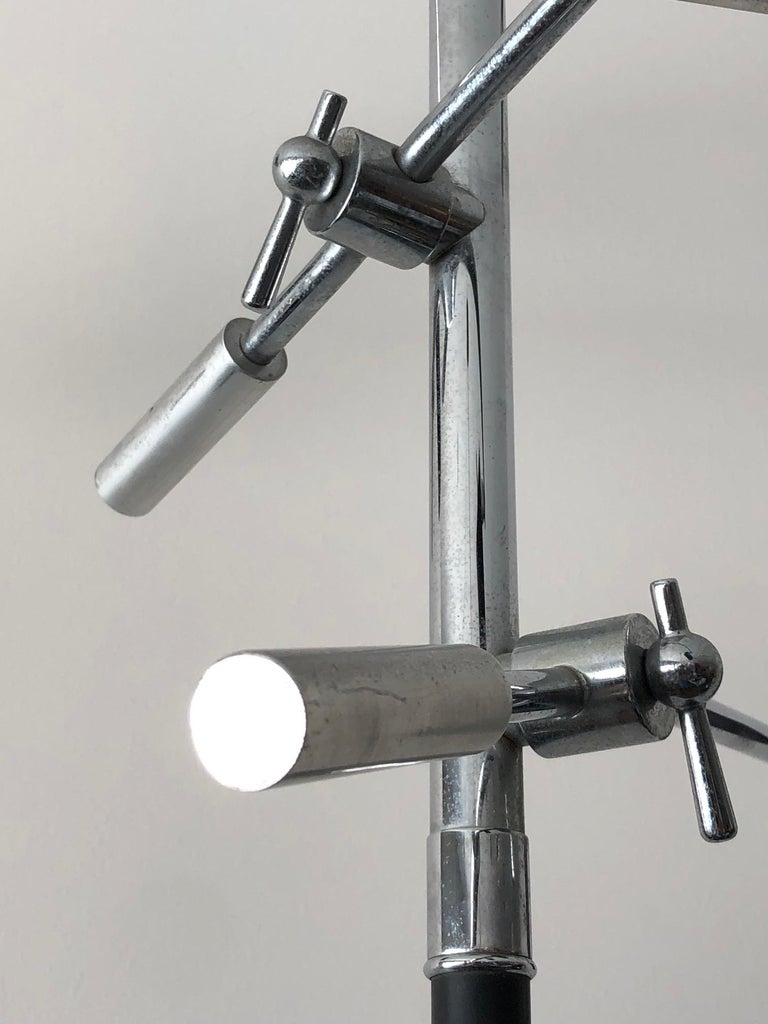 Petite Triennale Style Floor Lamp For Sale 7