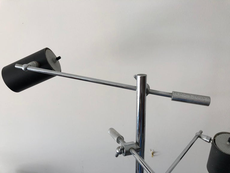 Petite Triennale Style Floor Lamp For Sale 9